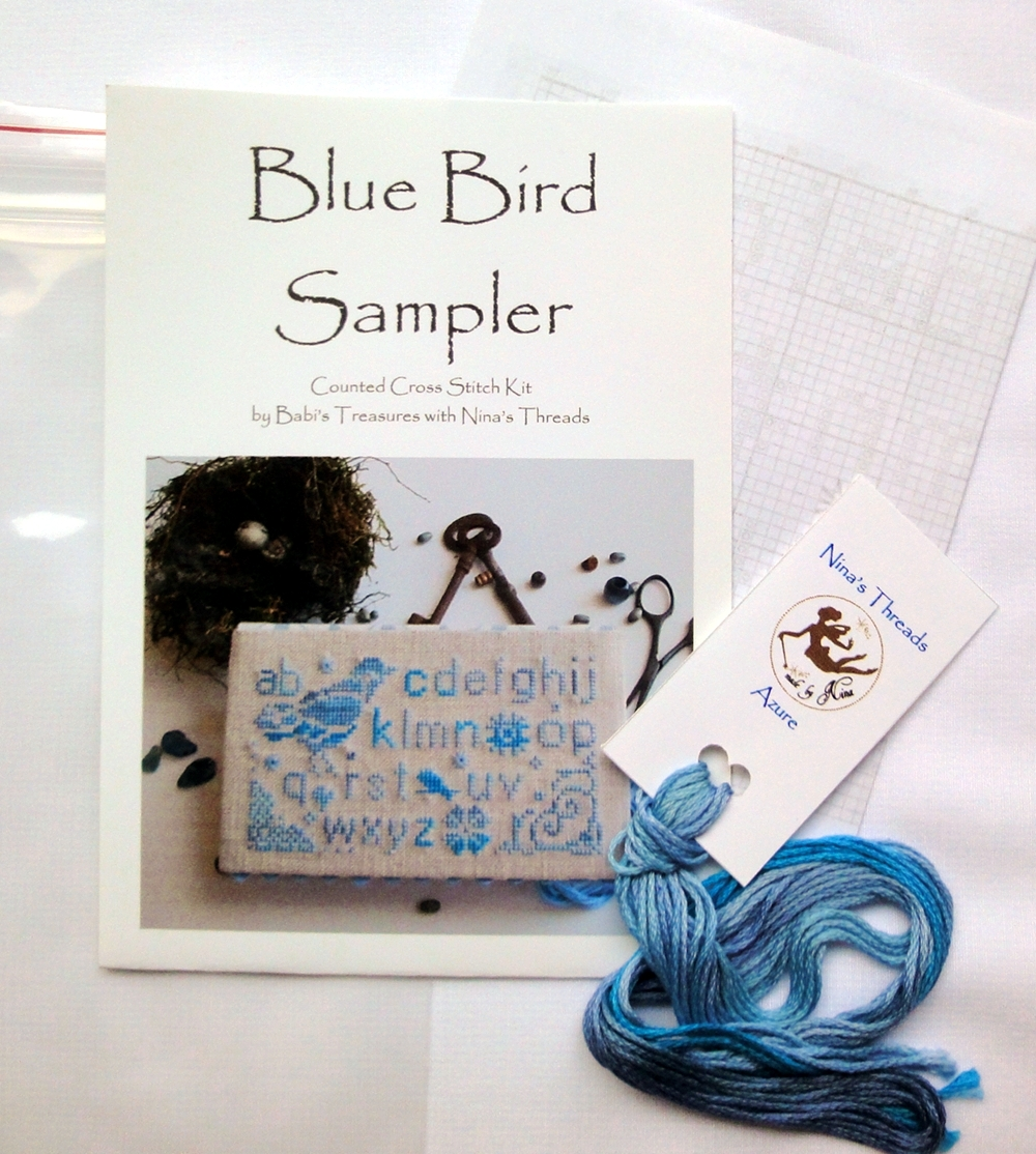 Blue Bird Sampler