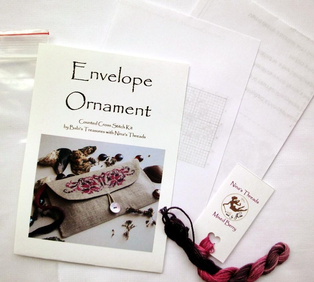 Envelope Ornament