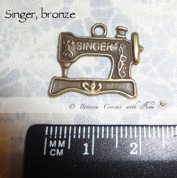 Singer  bronze